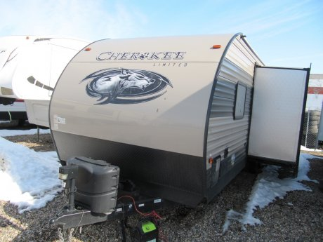 2017 Cherokee 27dbh Family Bunk Trailer
