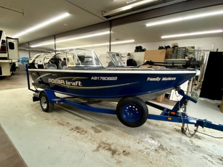 2009 POLAR KRAFT: 178FS FISHING BOAT